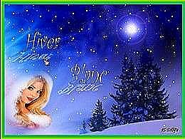 diaporama pps Hiver blanc