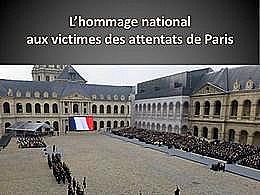 diaporama pps Hommage aux victimes des attentats