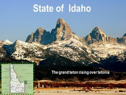 diaporama pps Idaho USA