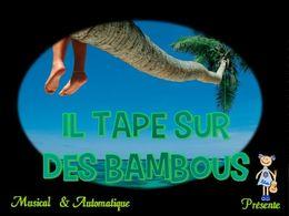 diaporama pps Il tape sur des bambous