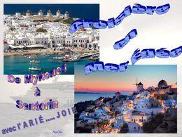 diaporama pps Iles Grecques – De Mykonos à Santorin