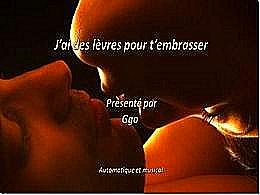 diaporama pps J'ai des lèvres pour t'embrasser