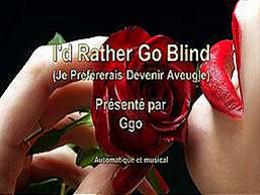 diaporama pps Je préfèrerais devenir aveugle