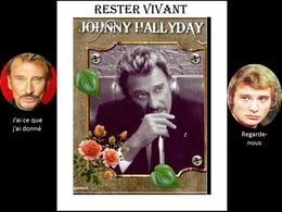 diaporama pps Johnny Hallyday – Rester vivant 1
