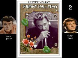 diaporama pps Johnny Hallyday rester vivant 2