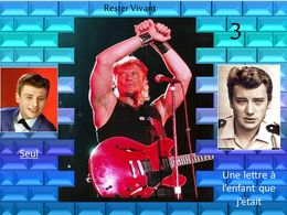 diaporama pps Johnny Hallyday – Rester vivant 3