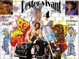 diaporama pps Johnny Hallyday – Rester vivant 4