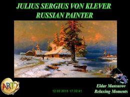 diaporama pps Julius Sergius von Klever – Russian Painter