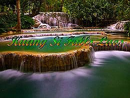 diaporama pps Kuang Si Falls – Laos