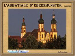 diaporama pps Abbatiale d'Ebersmunster en Alsace