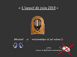 diaporama pps L'appel de juin 2010