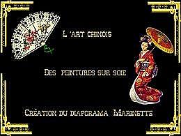 diaporama pps L'art chinois des peintures sur soie