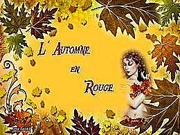 diaporama pps L'automne en rouge