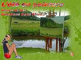 diaporama pps L'été en peinture