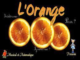 diaporama pps L'orange du marchand – Gilbert Bécaud