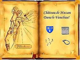 diaporama pps Le château de Mazan