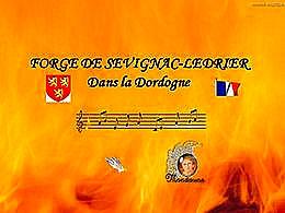 diaporama pps Forge de Savignac-Lédrier en Dordogne