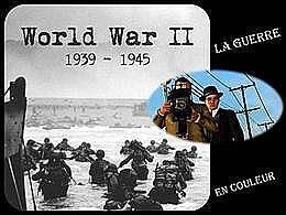 diaporama pps La guerre en couleur
