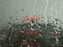 diaporama pps La pluie