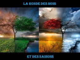 diaporama pps La ronde des mois et des saisons