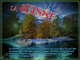 diaporama pps La Suisse