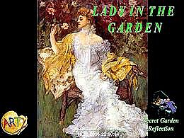 diaporama pps Lady in the garden