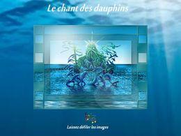 diaporama pps Le chant des dauphins