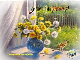 diaporama pps Le chemin du printemps