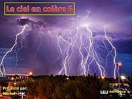 diaporama pps Le ciel en colère 6