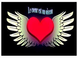 diaporama pps Le coeur est un oiseau