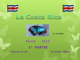 diaporama pps Le Costa Rica