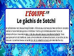 diaporama pps Le gachis de Sotchi