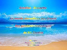 diaporama pps Le monde merveilleux des sirènes
