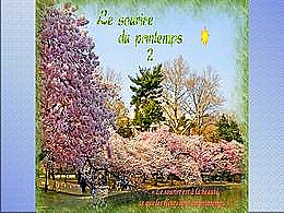diaporama pps Le sourire du printemps 2
