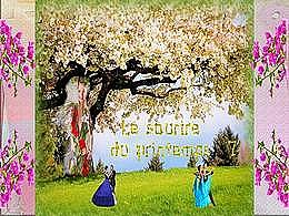 diaporama pps Le sourire du printemps 7