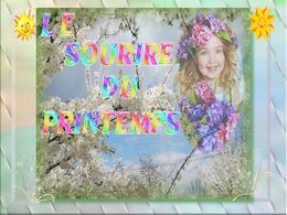 diaporama pps Le sourire du printemps