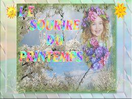 diaporama pps Le sourire du printemps
