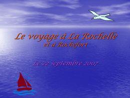 diaporama pps Voyage à La Rochelle