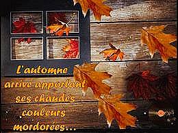 diaporama pps Les chaudes couleurs de l'automne