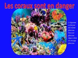 diaporama pps Les coraux sont en danger