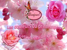 diaporama pps Les couleurs du printemps