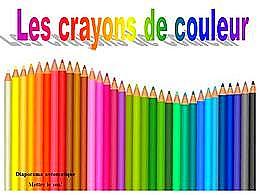 diaporama pps Les crayons de couleur