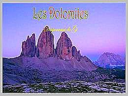 diaporama pps Les Dolomites