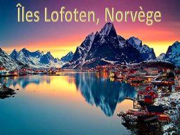 diaporama pps Les îles Lofoten Norvège