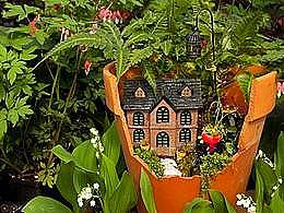 diaporama pps Les jardins des fées magiques