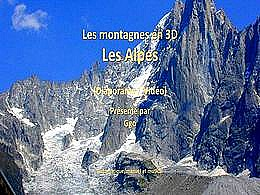 diaporama pps Les montagnes en video