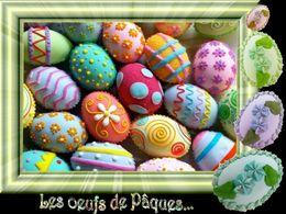 diaporama pps Les oeufs de Pâques