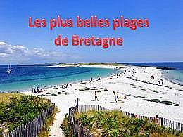 diaporama pps Les plus belles plages de Bretagne