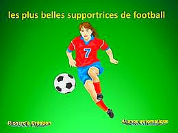 diaporama pps Les plus belles supportrices de football