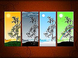 diaporama pps Les quatre saisons
